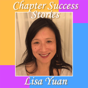 Chapter success stories Lisa Yuan